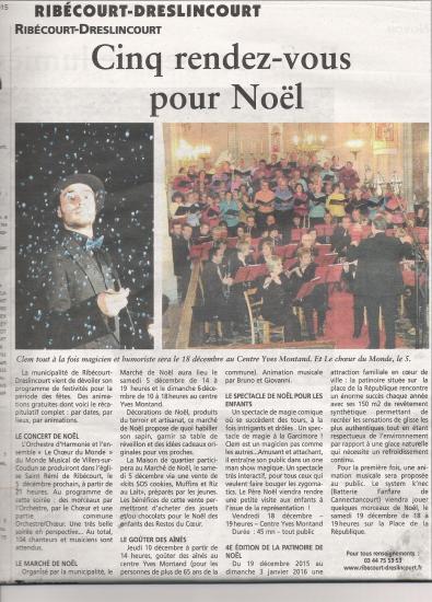 Le Monde Musical fête Noel